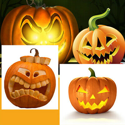 13Pcs Halloween Pumpkin Carving Tools Stainless Steel Pumpkin Sculpting Tool