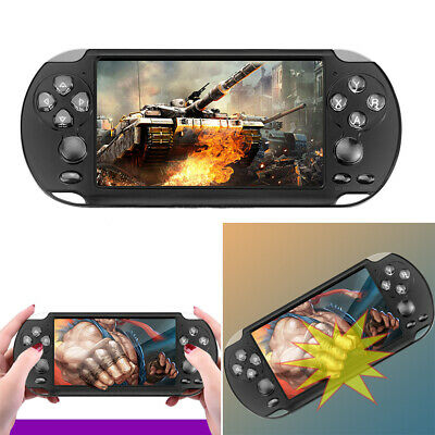 "5.1"" Portable Handheld X9 Video Game Consoles 128 Bit Built In 1000+ Kids Games"