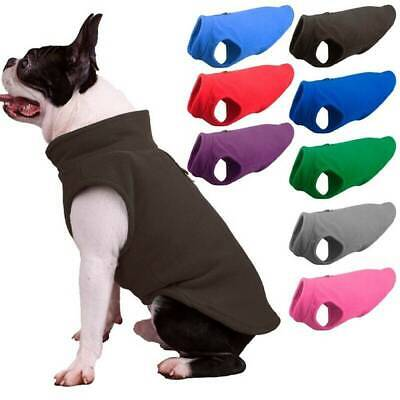 Pet Fleece Harness Vest Jacket Jumper Sweater Coat for Small Medium Large Dog UK