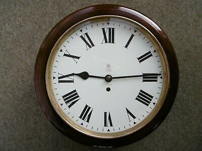 """Genuine Gpo, Post Office, 12"""" Dial, Fusee Clock. Eiir, Crown & Gpo On Dial."""