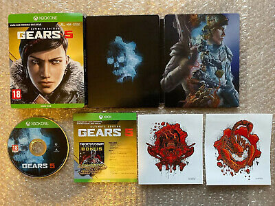 Gears Of War 5 Ultimate Steelbook Edition Xbox One BRAND NEW - FREE TRACKED POST