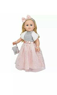 "My Life As Winter Princess Doll 18"" Blonde w/BONUS Poseable stand"