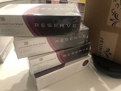Jeunesse Reserve Antioxidant Fruit Blend 30 Packets Genuine
