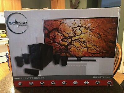 Eclipse Pro Series Home Theater Surround Sound System Hdtvstf0420 Brand New