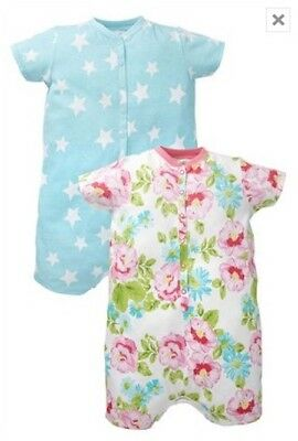 Bnip Next Sleepsuits All-In-One Playsuit Pyjamas Two Pack Size 3-4 Years