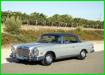 1970 Mercedes-Benz 200-Series 280SE Coupe ONE-OWNER 1970 280SE LOW-GRILLE COUPE SOLID ORIGINAL BODY NEW LEATHER INTERIOR