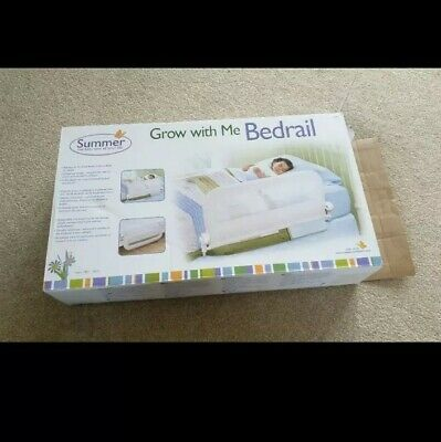 Summer Infant Grow with Me Single Bed Rail - White
