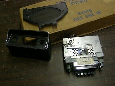 NOS OEM Ford 1970 1971 Maverick + Comet AM Radio + Bezel 1972 1973