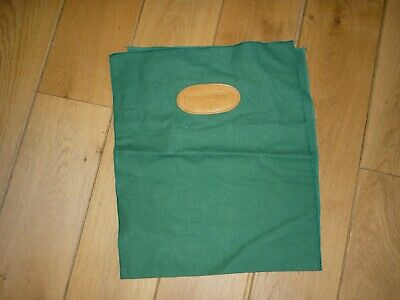 Johnny Moke London Green Shoe/Boot Polishing Cloth With Leather Detail