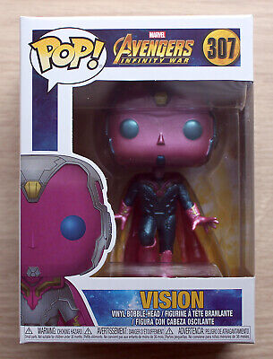 Funko Pop Marvel Avengers Infinity War - Vision + Free Protector