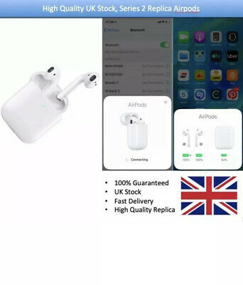 Apple AirPods 2nd Generation with Charging Case - White 1:1.