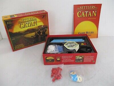 The Settlers Of Catan Game Of Discovery Settlement & Trade 3061 w/ Box