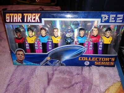 Star Trek TOS Pez Collectors Series 073621008953 New Limited edition New