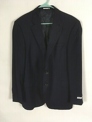 Mens Peter Millar Navy Suit Jacket Size 44T