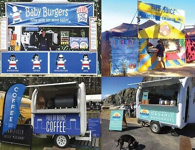 Mobile Catering Lifestyle Business - Burgers, Juice, Coffee Trailer, Mobile Cafe