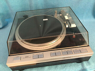 DENON DP47F DP-47F Direct Drive Full Auto Turntable with High output DL80MC Cart