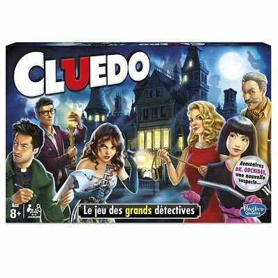 NEW Cluedo The Classic Mystery Board Game Perfect Family Game UK