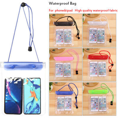 Storage Underwater Pouch Diving IPad Case Swimming Waterproof Phone Cover