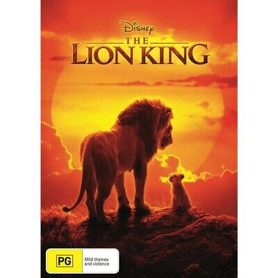 The Lion King (DVD, 2019) NEW  & Sealed! Region 4 *in stock*