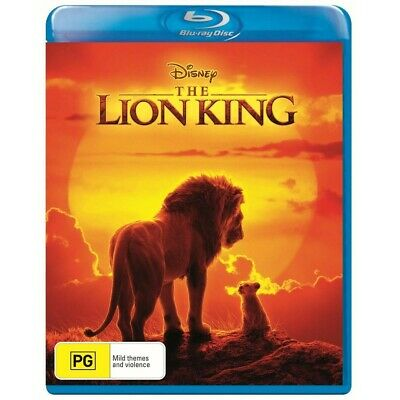 The Lion King (Blu-ray, 2019) NEW & Sealed! Region B *Available Now*
