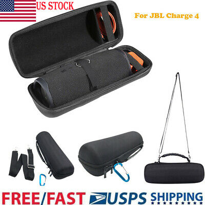 US For JBL Charge 4 Speaker Travel EVA Carry Case Storage Handbag Shoulder Bag