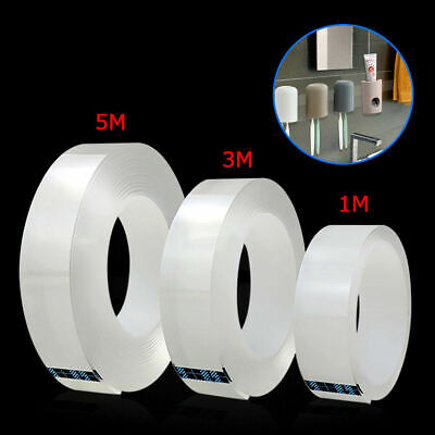 Waterproof Double Sided Nano Magic Tape Strong Adhesive Super Sticky Clear Tape