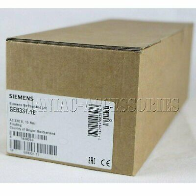 1pc new Siemens damper actuator GEB331.1E free shipping