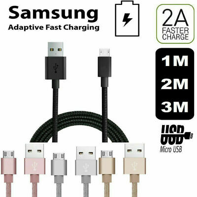 Fast Samsung Galaxy S6 / S6 Edge Plus S5 Micro USB Data Charger Charging Cable