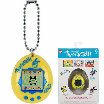 BANDAI Tamagotchi Original Interactive Pet - Yellow