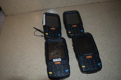 ^^ Datalogic Model Elf Type 00A0Ls-1N0-Cen0 Handheld Scanner - Lot Of 4 (E1)