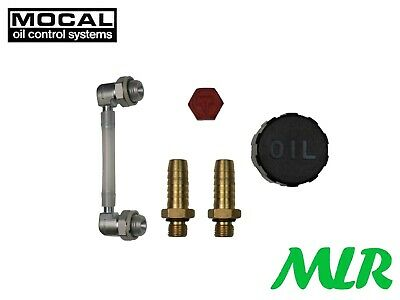 Mocal Ct3 Catch Tank Breather Tank Fitting Kit Breather Cap Drain Plug Sight Bvd