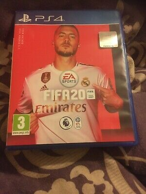Fifa 20 PS4 New But Not Sealed ( Not Been Used)