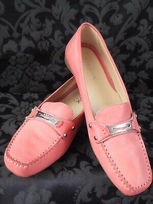 Geox Leather Moccasins, Loafers~Deck~Boat~Driving~Flat Slip on Casual Shoes UK 8