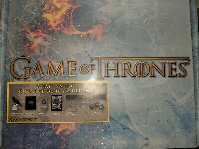 Game of Thrones CultureFly 2019 Gift Box |BRAND NEW SEALED HBO