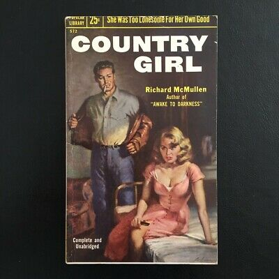 Richard McMullen - Country Girl - Popular Library Books 1954 Vintage Pulp