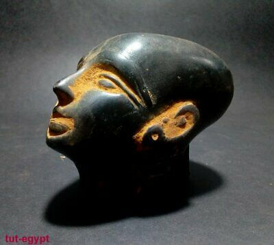 Rara Ancient Egyption Antique Head of Akhenaten Nefertiti Daughter (1334-1300BC)