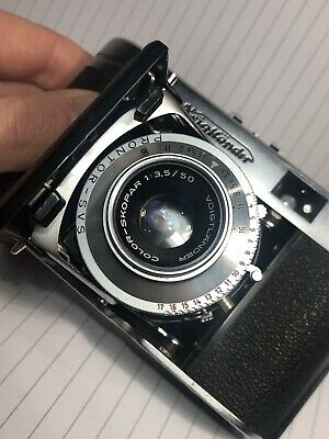 Vintage Voigtlander VIto II-a  35mm Film Camera With Barn Door Excellent C.