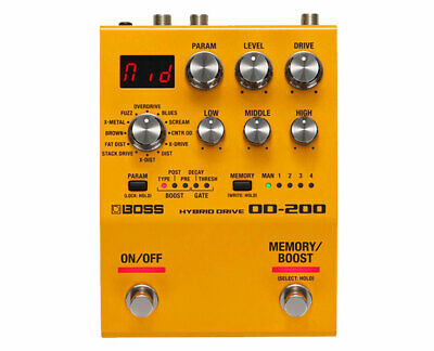 Boss OD-200 Hybrid Drive Effects Pedal