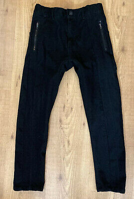ZARA Boys Black Skinny Dressy Holiday Pants Jeans Size 10