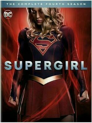 SUPERGIRL COMPLETE SEASON 4 4TH FOUR (DVD) Shipping NOW