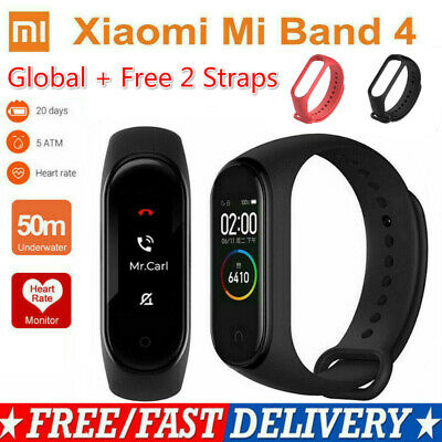 "Original Xiaomi Mi Band 4 Intelligent Armband 0,95"" Push Info Global Version"