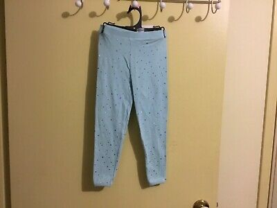 Girls Blue Leggings Size 3
