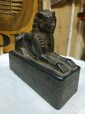 Antique Statue Rare Ancient Egyptian Pharaonic sphinx BC