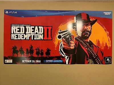 Red Dead Redemption 2 Promo Launch Poster/Board