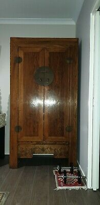 Solid Antique Chinese Wardrobe