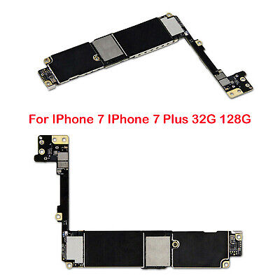 Replacement Main Motherboard Unlocked with Touch ID for IPhone 7 7 Plus 32G 128G