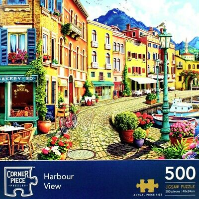 Harbour View 500 Piece Jigsaw Puzzle, Toys & Games, Brand New