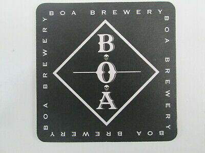 BROTHERS OF ALES BREWERY Beermat/Bierdeckel.  Cat. No. 1.