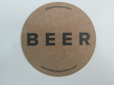 PROJECT 88 BREWERY Beermat/Bierdeckel.  Cat. No. 1 .