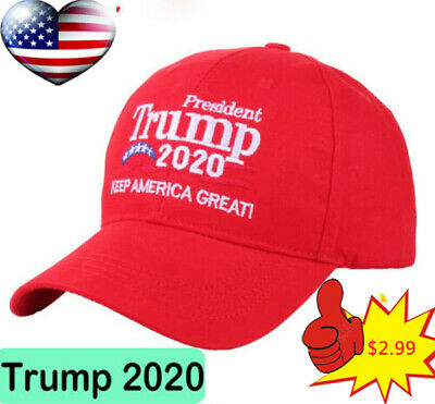 Donald Trump 2020 Keep Make America Great ! Cap President Election Hat Red Hat
